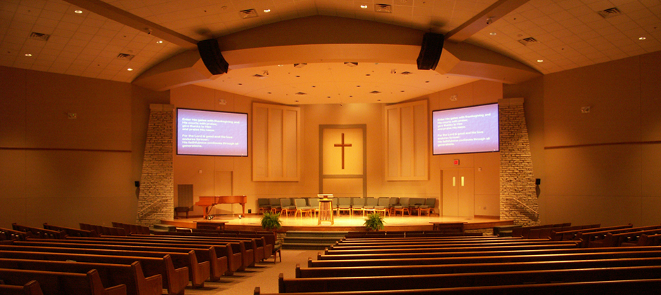 Hillsboro Mennonite Brethren Church in Hillsboro, Kansas.