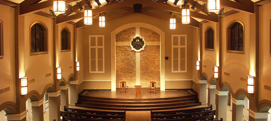 New Chapel at First Baptist Church in Midland, Texas.
