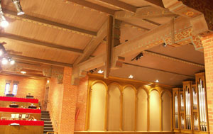 The new Tannoy QFlex 48 at University Christian Church